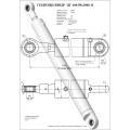 Гидроцилиндр ЦГ-100.50х1000.11