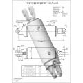 Гидроцилиндр ЦГ-100.50х400.01