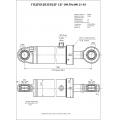 Гидроцилиндр ЦГ-100.50х400.11-03