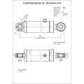 Гидроцилиндр ЦГ-100.50х500.11-01