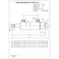 Гидроцилиндр ЦГ-100.50х500.23