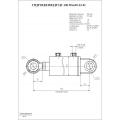 Гидроцилиндр ЦГ-100.50х630.22-01