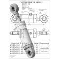 Гидроцилиндр ЦГ-100.56х800.11