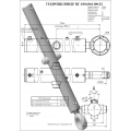 Гидроцилиндр ЦГ-100.60х1100.32