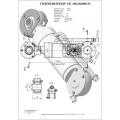 Гидроцилиндр ЦГ-100.60х800.25