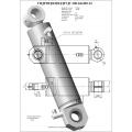 Гидроцилиндр ЦГ-100.63х320.12