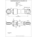 Гидроцилиндр ЦГ-100.63х900.11-01