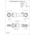 Гидроцилиндр ЦГ-100.63х900.11-03