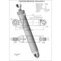 Гидроцилиндр ЦГ-100.80х2200.11