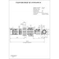 Гидроцилиндр ЦГ-100.80х6000.41