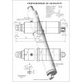 Гидроцилиндр ЦГ-100.80х650.55