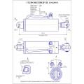 Гидроцилиндр ЦГ-110х200-3