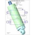 Гидроцилиндр ЦГ-110х250-3