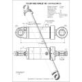 Гидроцилиндр ЦГ-110.56х1240.11