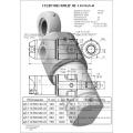 Гидроцилиндр ЦГ-110.56х140.41