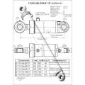 Гидроцилиндр ЦГ-110.56х1000.11
