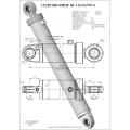 Гидроцилиндр ЦГ-110.56х700.11