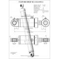 Гидроцилиндр ЦГ-110.63х900.11