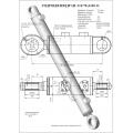 Гидроцилиндр ЦГ-110.70х1100.11