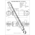 Гидроцилиндр ЦГ-110.70х900.11