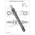 Гидроцилиндр ЦГ-110.80х1000.11
