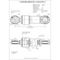 Гидроцилиндр ЦГ-110.80х1185.11