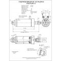 Гидроцилиндр ЦГ-125.50х200.01
