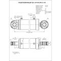 Гидроцилиндр ЦГ-125.50х250.11-02