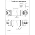 Гидроцилиндр ЦГ-125.50х250.11