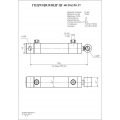 Гидроцилиндр ЦГ-40.20х150.17