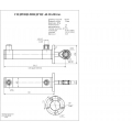 Гидроцилиндр ЦГ-40.20х200.66