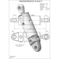 Гидроцилиндр ЦГ-50.25х40.17