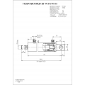 Гидроцилиндр ЦГ-50.25х765.23
