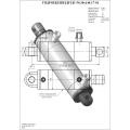 Гидроцилиндр ЦГ-50.30х140.17-01