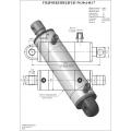 Гидроцилиндр ЦГ-50.30х140.17