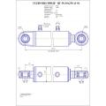 Гидроцилиндр ЦГ-50.30х250.11-01