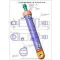 Гидроцилиндр ЦГ-50.30х265.13-01