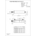 Гидроцилиндр ЦГ-50.30х100.14