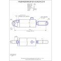 Гидроцилиндр ЦГ-60.30х250.22-01