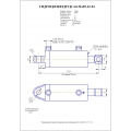 Гидроцилиндр ЦГ-60.30х85.22-03