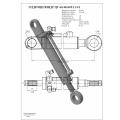 Гидроцилиндр ЦГ-60.40х305.11-01