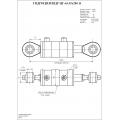 Гидроцилиндр ЦГ-63.35х280.11