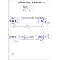 Гидроцилиндр ЦГ-63.40х1200.11-01