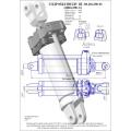 Гидроцилиндр ЦГ-80.40х200.01