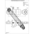 Гидроцилиндр ЦГ-80.40х400.17