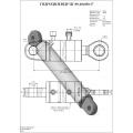 Гидроцилиндр ЦГ-80.40х680.17