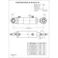 Гидроцилиндр ЦГ-80.40х630.11