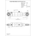 Гидроцилиндр ЦГ-80.50х160.11-01