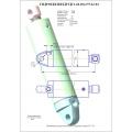 Гидроцилиндр ЦГ1-60.30х175.22-02