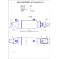 Гидроцилиндр ЦГ- 100.40х200.01-03